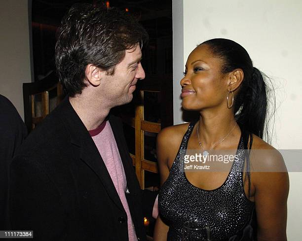 Mike Nilon and Garcelle Beauvais-Nilon during 2005 HBO Pre-Golden Globe Awards Party in Los Angeles, California, United States.