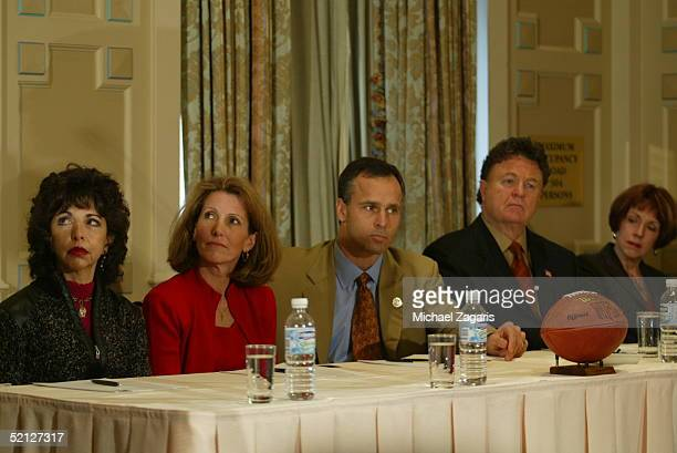 Mike Nolan is announced as the Head Coach of the San Francisco 49ers at the Mark Hopkins Hotel in San Francisco California on January 19 2005