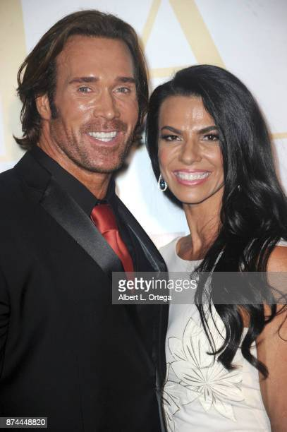 Mike O'Hearn and Mona Muresan attend Amare Magazine Presents A Black Tie Event featuring cover model Mike O'Hearn held at Hangar 21 on November 14...