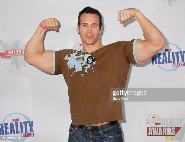 Mike O'Hearn arrives at the Fox Reality Channel's Really Awards held at Avalon Hollywood on September 24 2008 in Hollywood California