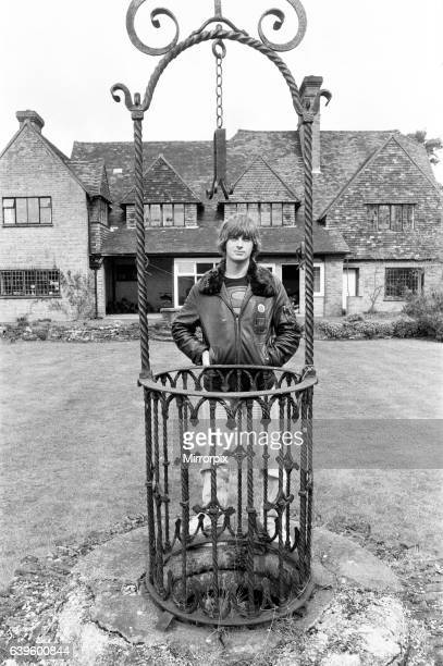 Mike Oldfield musician and composer pictured at his home in Buckinghamshire 1st April 1980