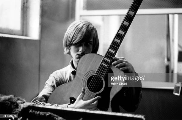 Mike Oldfield recording his first LP 'Children of the Sun' August 1968 He worked with his sister Sally Oldfield as The Sallyangie at that time He was...