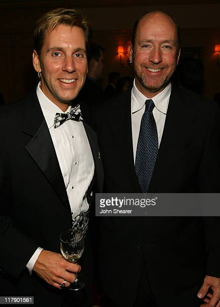 Mike Olman and Chris Jenkins at the 43rd Annual Cinema Audio Society Awards