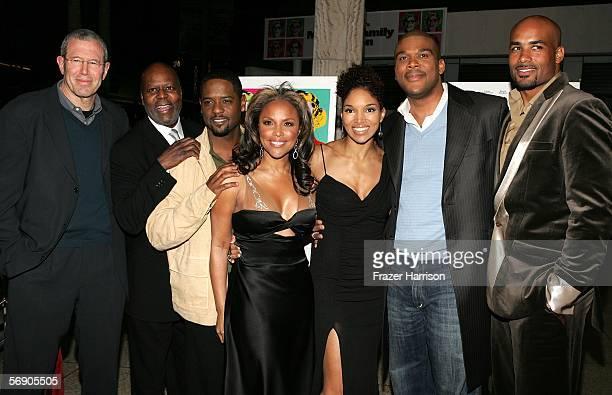 Mike Paseornek President of Production Lions Gate Films Producer Reuben Cannon Actors Blair Underwood Lynn Whitfield Lisa Arrindell Anderson Tyler...