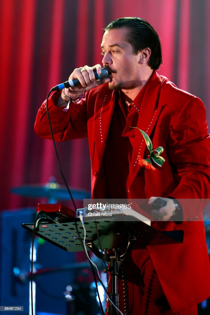 Mike Patton of Faith No More performs at day one of the Download Festival at Donington Park on June 12, 2009 in Castle Donington, England.