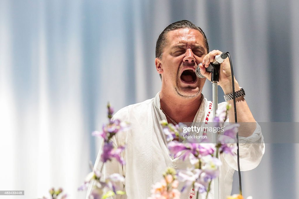 Mike Patton of Faith No More performs on Day 2 of the Heavy Montreal Festival at Parc Jean-Drapeau on August 8, 2015 in Montreal, Canada.
