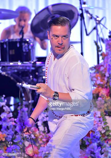 Mike Patton of Faith No More performs The Tonight Show Starring Jimmy Fallon at Rockefeller Center on May 13 2015 in New York City
