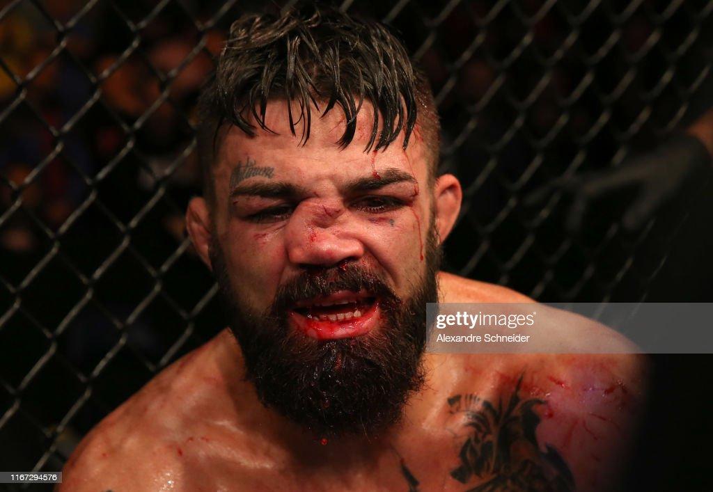 UFC Fight Night: Luque v Perry : Nachrichtenfoto