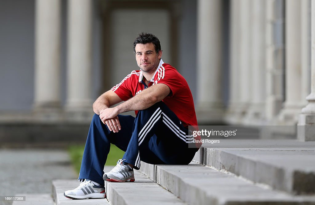 Mike Phillips poses during the British and Irish Lions media session held at Carton House on May 20, 2013 in Maynooth, Ireland.