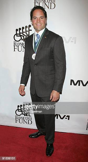 Mike Piazza attends the 24th Annual Great Sports Legends Dinner at The Waldorf=Astoria on October 6 2009 in New York City