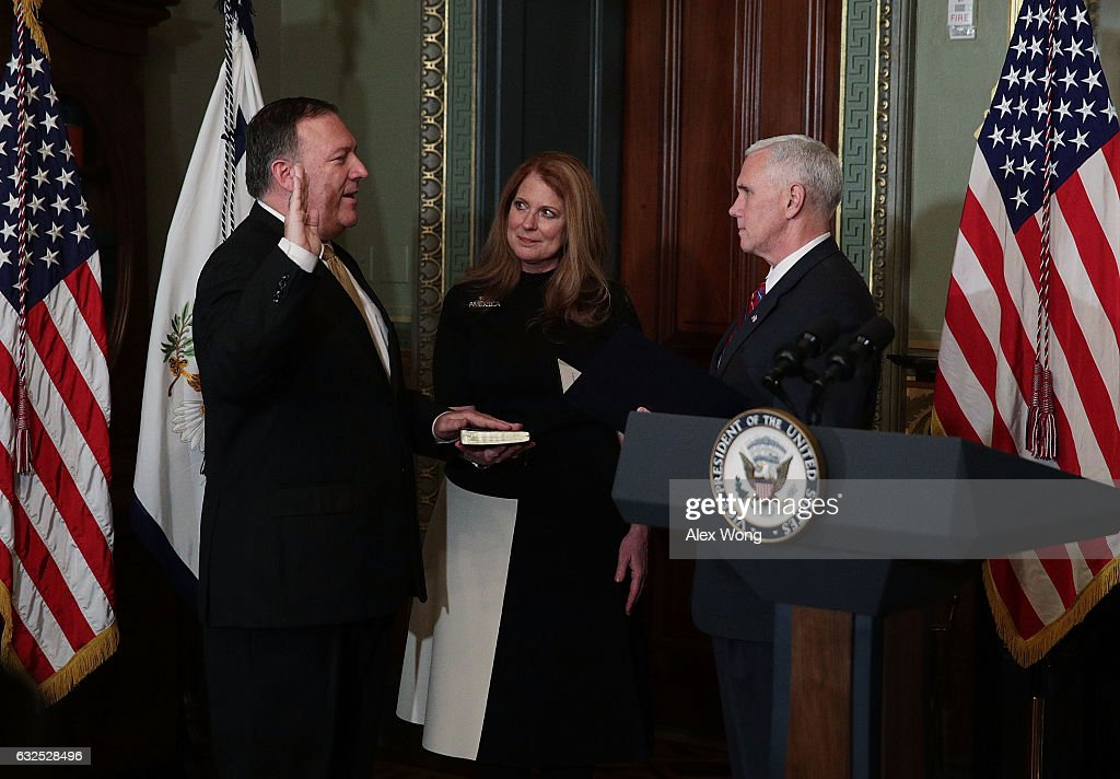 Mike Pompeo Sworn In As CIA Director
