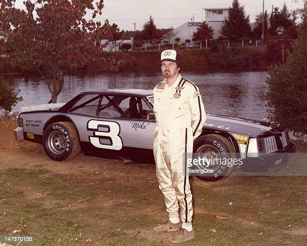 Mike Porter of Princeton WV with the Pontiac Le Mans he campaigned on the NASCAR Late Model Sportsman circuit during the season Porter's biggest win...