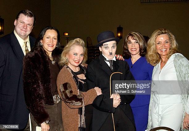 Mike Rademaekers Mara New Carol Connors Charlie Chaplin lookalike Kate Linder and Deanna Lund