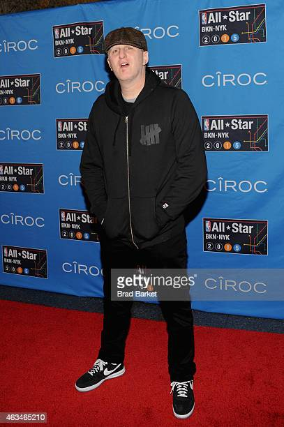 Mike Rappaport attends State Farm AllStar Saturday Night NBA AllStar Weekend 2015 at Barclays Center on February 14 2015 in New York New York