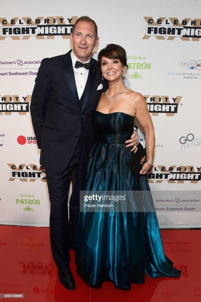 Celebrity Fight Night XXIV - Red Carpet : News Photo