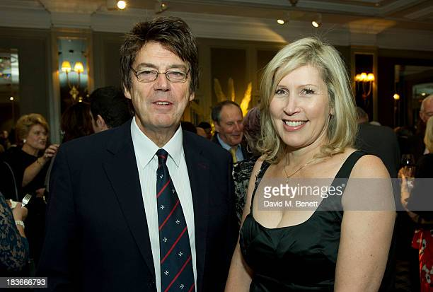 Mike Read attends Nicholas Parsons 90th birthday party at the Churchill Hotel on October 8 2013 in London England