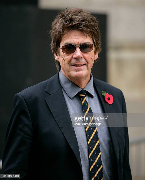 Mike Read attends Sir Jimmy Savile's funeral service at Leeds Cathedral on November 9 2011 in Leeds England