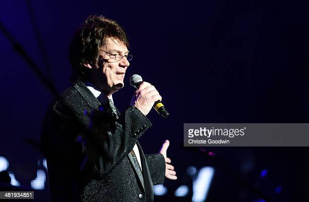 Mike Read hosts City Rocks in aid of children's charity Coram at Royal Albert Hall on April 1 2014 in London United Kingdom