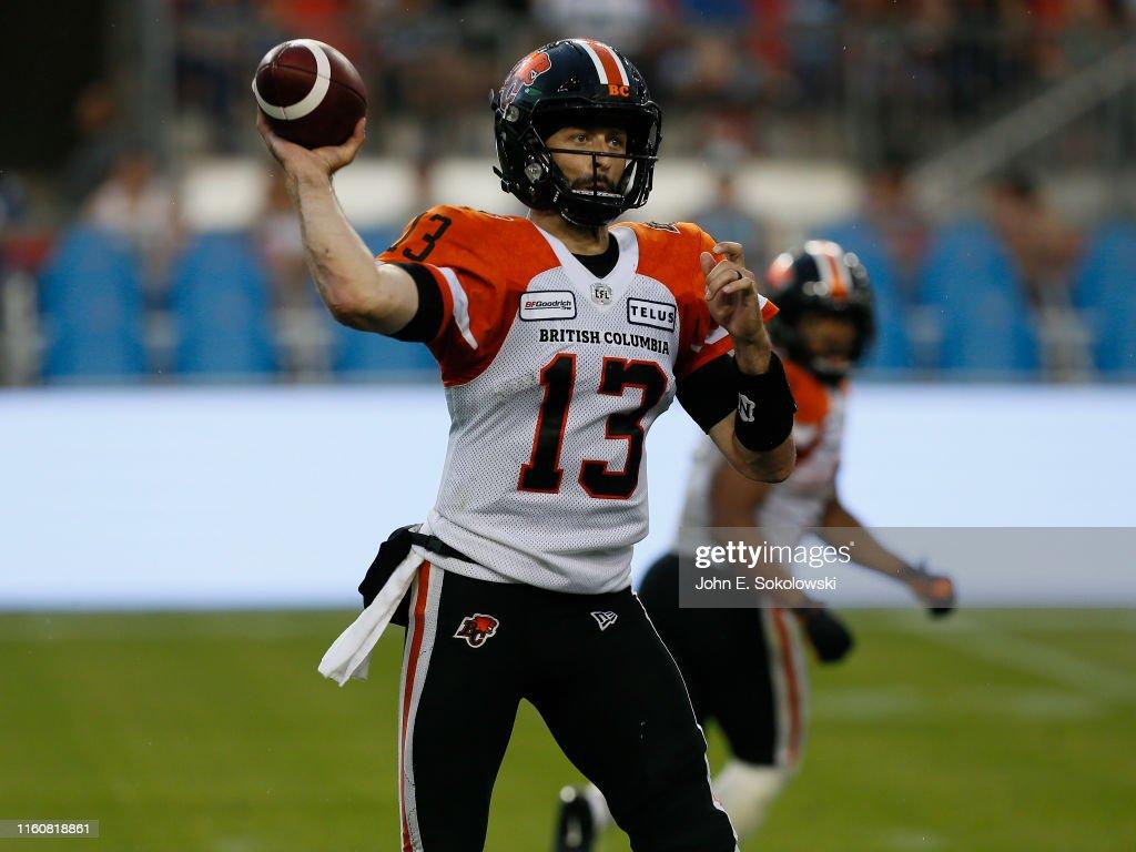 BC Lions  v Toronto Argonauts : News Photo