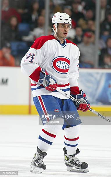 Mike Ribeiro of the Montreal Canadiens skates during the game against the Buffalo Sabres on February 9 2006 at HSBC Arena in Buffalo New York The...
