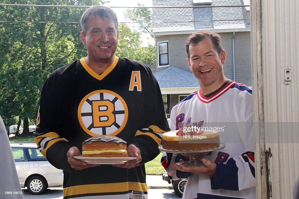 2013 Discover NHL Thanksgiving Showdown NBC Commercial Shoot
