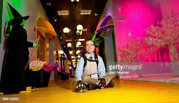 Mike Rivera with his turtle Rosie on Rewards Street inside Judge Rotenberg Center The Judge Rotenberg Educational Center is a private residential...