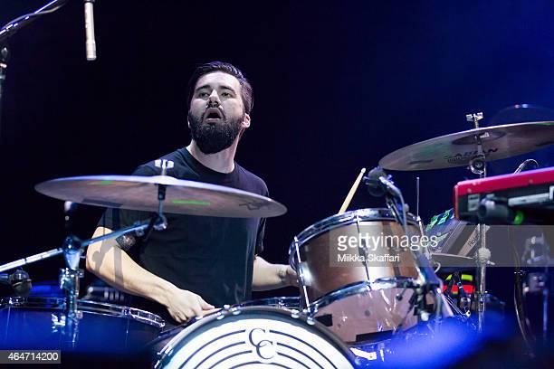 Mike Robinson of Empired performs at Noise Pop festival at The Fox Theater on February 27 2015 in Oakland California