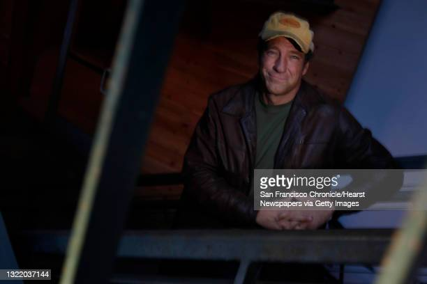 """Mike Rowe, host of """"Dirty Jobs"""" on the Discovery channel is seen on Monday, November 29, 2010 in San Francisco, Calif."""
