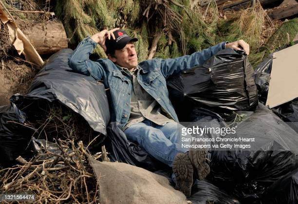 """Mike Rowe, of San Francisco, host of the Discovery channel's """"Dirty Jobs,"""" at Norcal Waste shooting a segment. Dirty Jobs grew out of a segment Rowe..."""