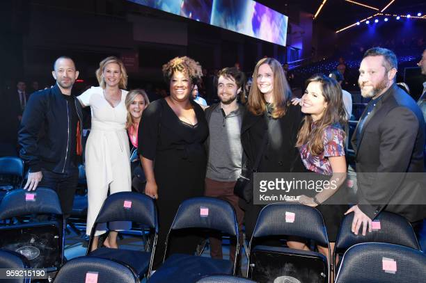 Mike Rubens Allana Harkin Samantha Bee Ashley Nicole Black Daniel Radcliffe Alison Camillo Amy Hoggart and Miles Kahn attemd the Turner Upfront 2018...