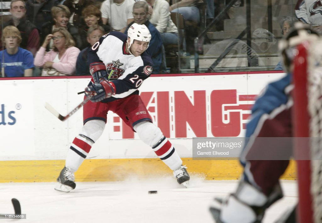 Columbus Blue Jackets vs Colorado Avalanche - January 7, 2006