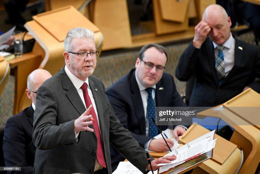 Scottish Brexit Bill Facing Final Vote