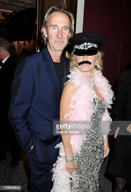 Mike Rutherford and Angie Rutherford attend 'Freddie For A Day' celebrating Freddie Mercury's 65th birthday in aid of The Mercury Pheonix Trust at...