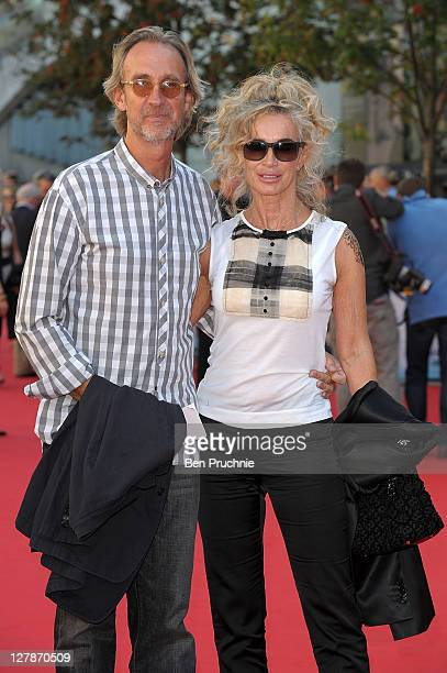 Mike Rutherford and Angie Rutherford attend the 'George Harrison Living In The Material World' film documentary UK premiere at BFI Southbank on...