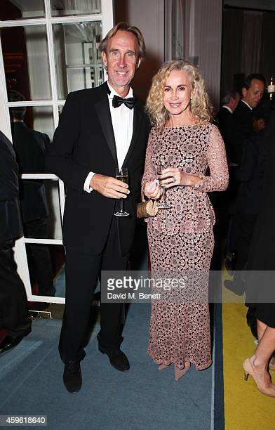 Mike Rutherford and Angie Rutherford attend the Louis Dundas Centre Dinner at the Mandarin Oriental Hyde Park on November 26 2014 in London England
