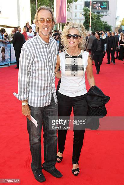 Mike Rutherford and Angie Rutherford attends the UK premiere of George Harrison Living In The Material World at The BFI Southbank on October 2 2011...