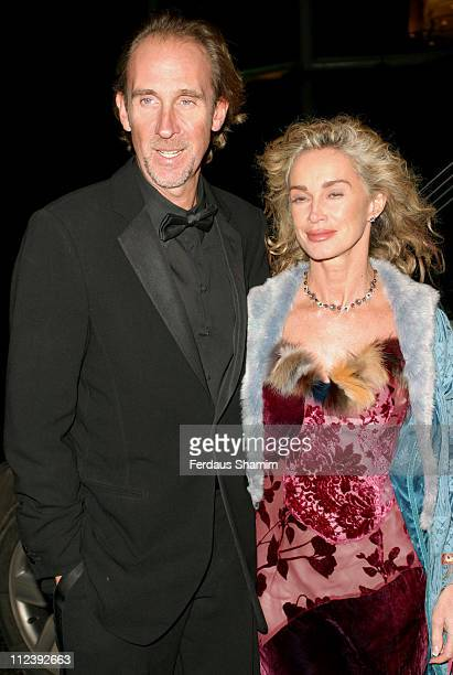 Mike Rutherford and Angie Rutherford during La Dolce Vita Party Arrivals at The Honourable Artillery Company in London United Kingdom
