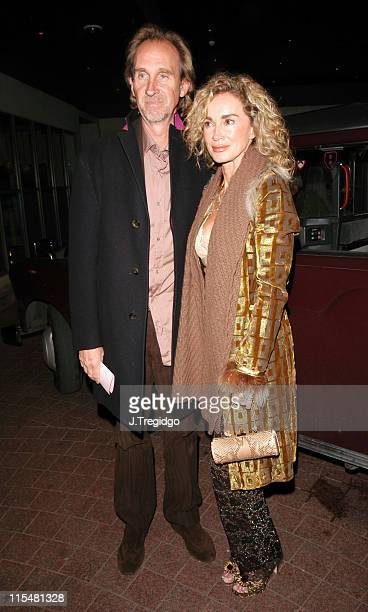 Mike Rutherford and Angie Rutherford during Paul McKenna Party March 8 2005 at Soho Hotel in London Great Britain