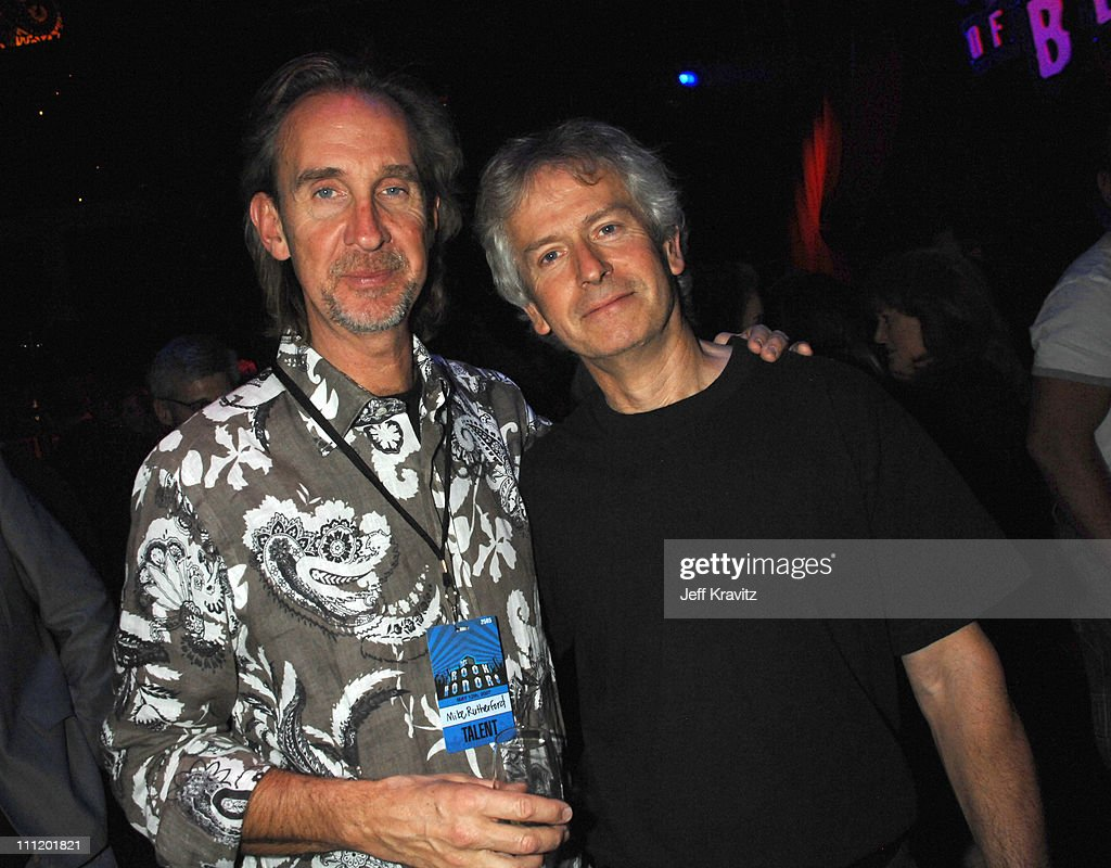 Mike Rutherford and Tony Banks of Genesis during 2007 VH1 Rock Honors - After Party Benefiting VH1 Save The Music Foundation at Mandalay Bay in Las Vegas, Nevada, United States.