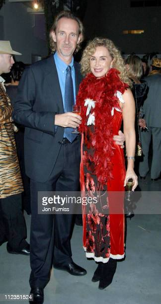 Mike Rutherford and wife during Why Not Charity Event November 25 2005 at Westbourne Studios in London Great Britain
