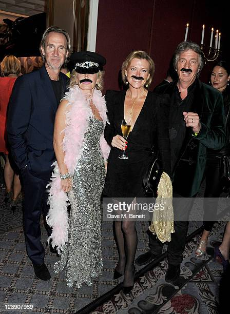 Mike Rutherford Angie Rutherford Eimear Montgomerie and Nick Cook attend Freddie For A Day celebrating Freddie Mercury's 65th birthday in aid of The...