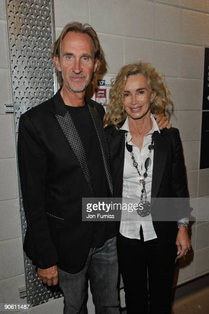 ACCESS*** Mike Rutherford backstage at the O2 Rockwell concert in aid of NordoffRobbins Music Therapy at 02 Arena on September 11 2009 in London...
