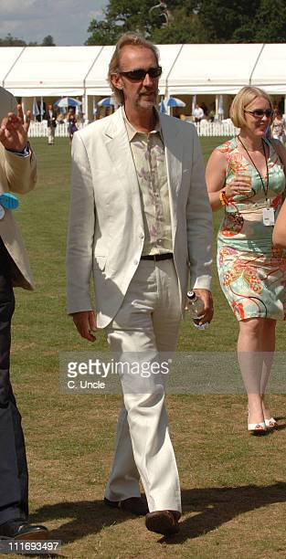 Mike Rutherford during Cartier International Polo July 30 2006 at Windsor in London Great Britain
