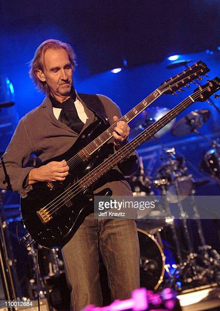 Mike Rutherford of Genesis during 2007 VH1 Rock Honors Show at Mandalay Bay in Las Vegas Nevada United States