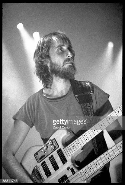 Mike Rutherford of Genesis performing in Cologne Germany 17th October 1981
