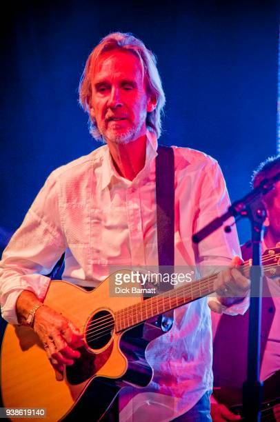 Mike Rutherford of Mike and the Mechanics performs on stage, May 2012.