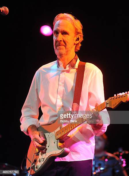 Mike Rutherford of Mike The Mechanics performs at Best Buy Theater on March 4 2015 in New York City