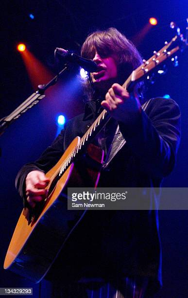 Mike Scott from The Waterboys during The Waterboys in Concert at Shepherds Bush Empire in London February 3 2006 at Shepherds Bush Empire in London...