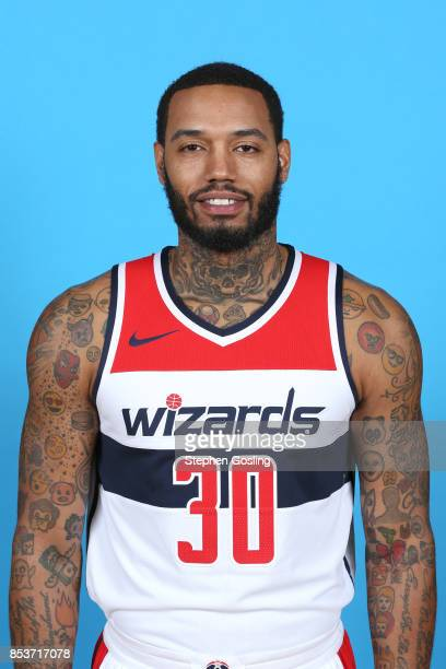 Mike Scott of the Washington Wizards poses for a head shot during Media Day on September 25 2017 at Captial One Center in Washington DC NOTE TO USER...