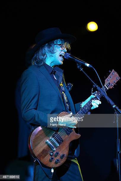 Mike Scott of The Waterboys performs at Portsmouth Guildhall on November 14 2015 in Portsmouth England